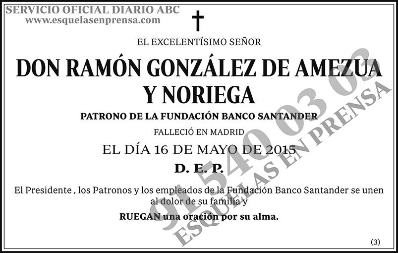 Ramón González de Amezua y Noriega
